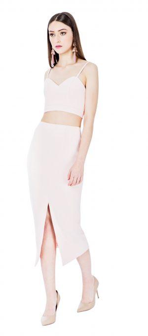 Zoe Set Skirt Pink